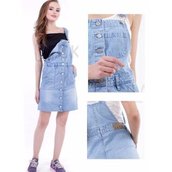 Harga Overall Pocket Cke Jeans Light