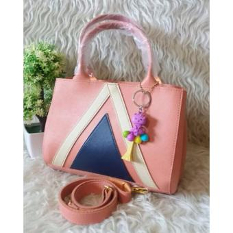 Harga DoubleC Fashion Aina Bag Peach