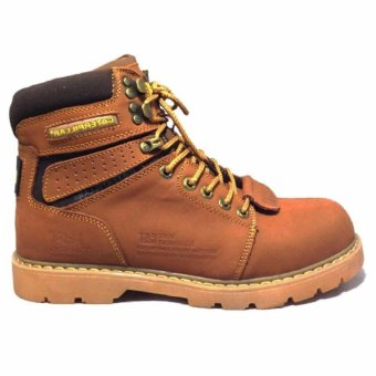 Harga Caterpillar Cat Sepatu Hiking Tracking Shoes - Nigger Brown
