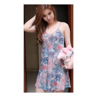 SB Collection Baju Tidur Kinarsih daster Dress-Multicolor