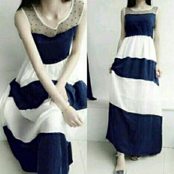 Harga MJ maxi Dress Maggie - Navy