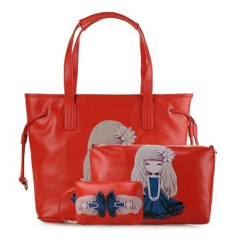 Harga Bellezza 613261-01 Handbag - Red
