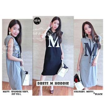 Harga Premierfashionstore Dress M Hoddie - Misty