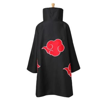 Harga Unisex Cosplay Costumes Japan Anime Naruto Itachi Akatsuki Cosplay Robes Cloak Cape Hood Coat Party Costumes Clothing - intl