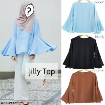 Jilly Top Warna Caramel