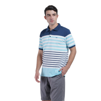 Harga Carvil Cosmo Men's Polo Stripe - Kombinasi