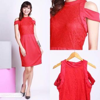 Harga Spesifikasi Omah Fesyen Helike Ethnic Flare Mini Dress Source · Harga Pagettma Ethnic Cold Shoulder