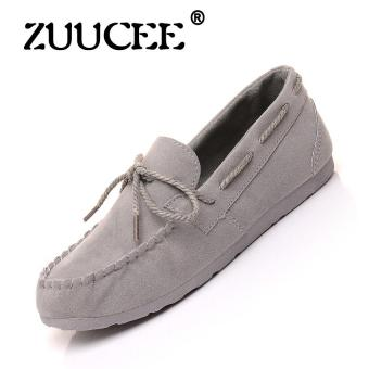 Harga ZUUCEE Women's Fashion Loafer Flats Shoes Casual Shoes