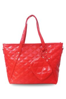 Harga QuincyLabel Tote Louise Bag - Red