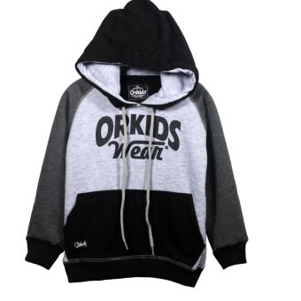 Harga Orkids sweater anak Davans - Misty/Black