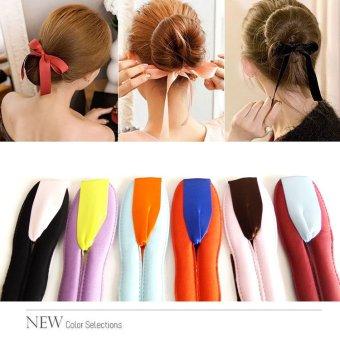 ... Anne Ribbon hairdini seri 2 hair bun tools maker cepol rambut korea