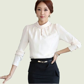 369 Blouse Ivi Putih Ezyhero Source · Harga Jfashion Korean Style Basic Blouse Monica Putih