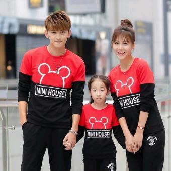 Jakarta Couple - Family Couple Sweater MiniHouse