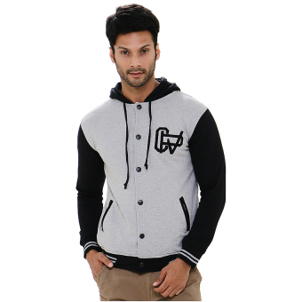 Carvil Hoodie-Bms Jacket Man - Black-Misty