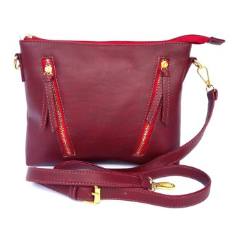 Harga Baglis Vinna Mini Sling Bag - Dark Red