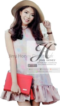 Harga Jims Honey Coco Clutch [Red]