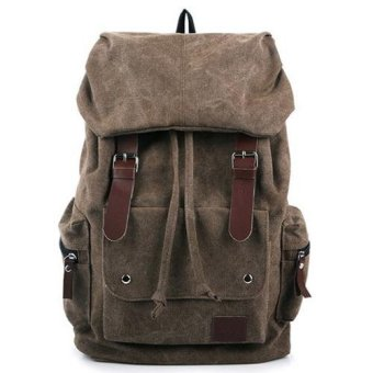 Harga Leather Backpack - Cokelat