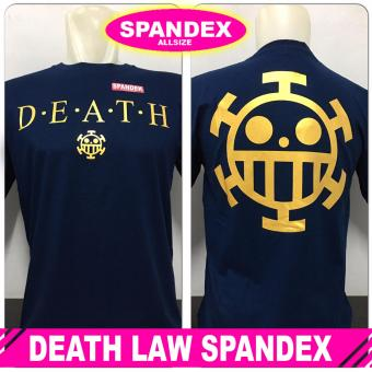 KAOS BAJU DISTRO ANIME PREMIUM ONE PIECE LOGO LAW DEATH