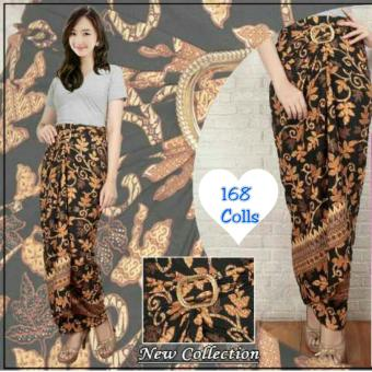 168 Collection Rok Maxi Lilit Yuliana Batik-Coklat