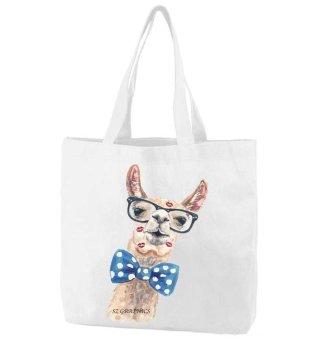 Sz Graphics Cute Camel Tote Bag Wanita Tas Wanita Bag Wanita Bag Fashion Tas Putih Tote