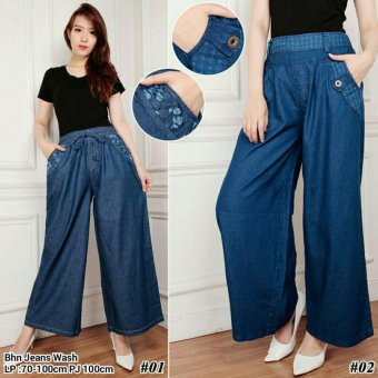 ... 168 Collection Celana Kulot Fiorentina Jeans Pant Model 02