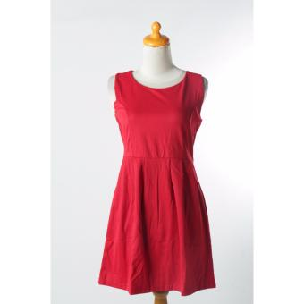 Harga Valatex Midi Dress Les petites - Red