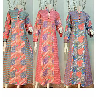 Harga Batik Dress Muslim Hanna