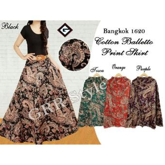Harga Rok payung batik balleto , G-rock , (purple, orange , black,tosca)
