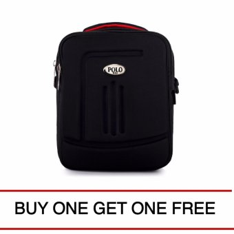 Harga P0L0 Reducer Slingbag - Jet Black ( BUY ONE GET ONE )