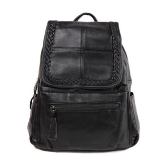 Harga London Berry by HUER Guppy Flap Backpack - Black