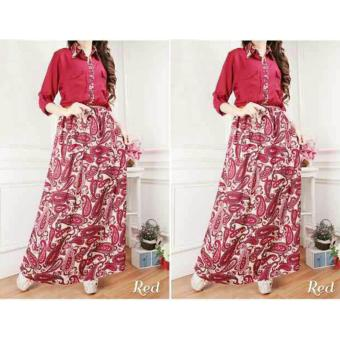 Harga MJ Maxi Dress Gaby - Merah