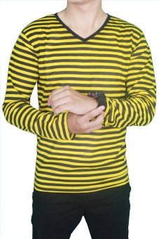 Harga Gudang Fashion - Mens T Shirt Design - Kuning