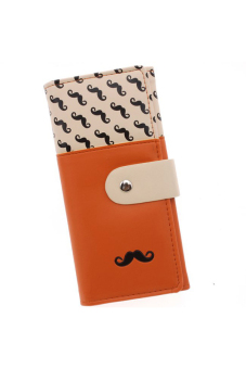 Harga Hengsong Leather Wallet (Orange)