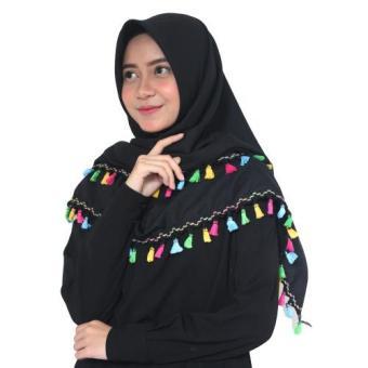 Premium Amira Mocca Hijab Pashmina Instant Diamond . Source · Harga Parisku Jilbab .
