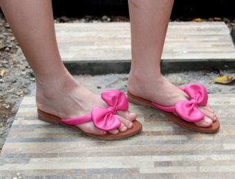 Murahbangetz SHOP LINE Source · Fasahaya Lazada co id Source Home Sandal Pompom Teplek Hijau Marlee