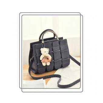 Harga Tas Fashion Branded Import 80705 Black