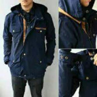 Harga JAKET PARKA POCKET LIST (NAVY)