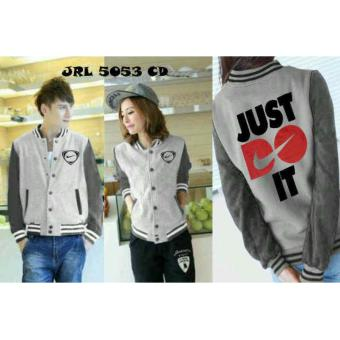 Jaket Couple / Baju Pasangan / Kancingjust Do It 9980