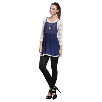 La 79173 Hitam Source Nataria Brand Dress Wanita NR 870367