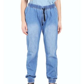Harga Dline Denim Long Jogger - Ice Blue