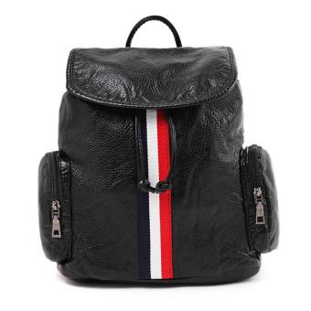 Harga London Berry by HUER Dover Web Front Backpack - Black