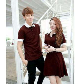 Harga Grateful Couple Star - Maroon