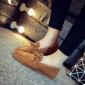 Harga ZUUCEE Women's Fashion Loafer Flats Shoes Casual Shoes - intl