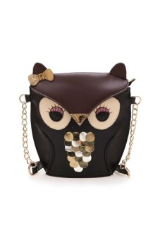 Harga Women Handbag Cute Cartoon Bag Owl Shoulder Bags Small Bag