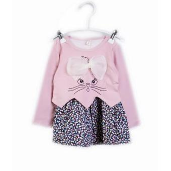 Harga Freeshop Flower rabbit F977 - Pink