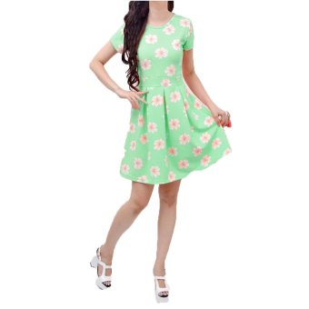 Harga Jasmine Mini Dress-Mint