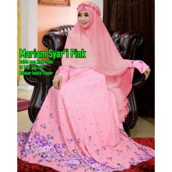 DoubleC Fashion Pro Mariam 3in1 Tosca Lazada Indonesia Source Gamis Mariam Syar i .