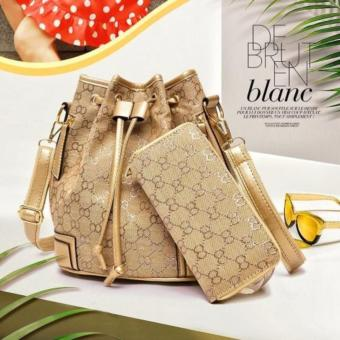 Harga Tas Fashion Branded Import 89772 Gold