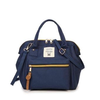 Harga Anello Japan 3 Ways Mini Hand bag & Shoulder Bag - Dark Blue