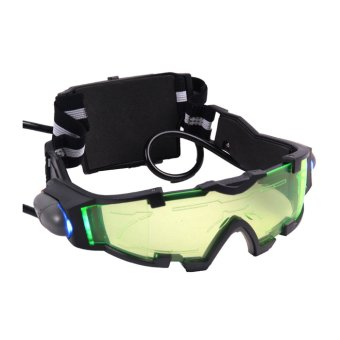 Harga Elastis Band Night Vision kacamata Eyeshield - International